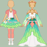 p: More Outfits for Sammie by Queen-of-Color