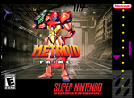 Metroid Prime SNES Box Art by meepmeep189