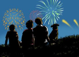 Fourth of July by mike-loscalzo