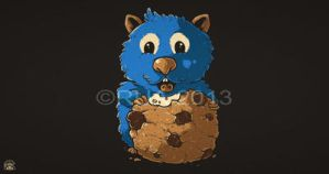 COOKIE HAMSTER by ruados