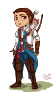 Connor Kenway by soi-scholla
