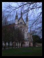 English 2 - Cathedral by floydiac