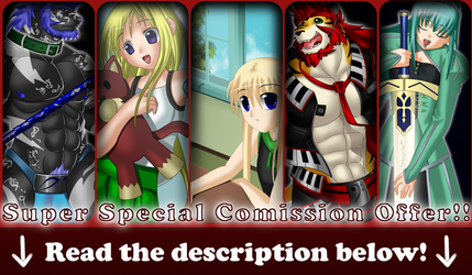 Super Special Comission Offer -aka SSCO- by FastSpeedy