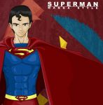 Superman Cell Shade Color Test by Leugh