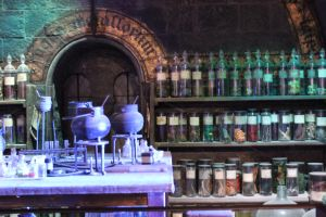 Potions Class by X-x-Magpie-x-X