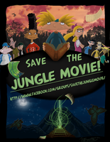 Save the Jungle Movie Poster by Widowmura