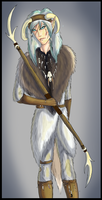 Arctic Elf by lover-of-the-Drow