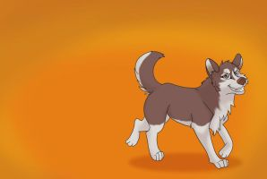 Husky Commission by WoolNoon