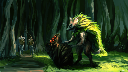 Glade scavenger by william5678