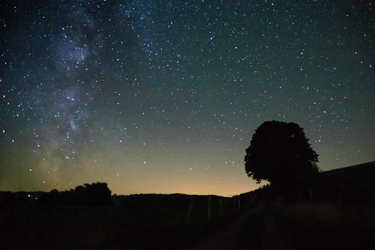 summer milkyway by 12whoami