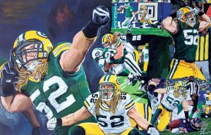 Clay Matthews by EricAndersonCreative