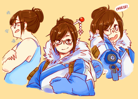 Mei by udonmonster