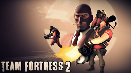 Team Fortress 2 Wallpaper (RED) by Robogineer