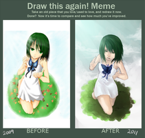 Draw this again - Meme by allenerie