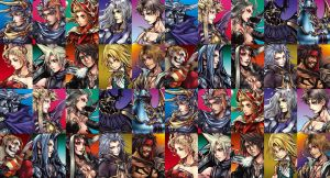 Final Fantasy Dissidia by Squall-Lawliet
