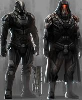 CHROMA - Syndicate Troopers by Minyi