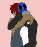 PC: Hammer Head x Eyeless Jack by squashgender
