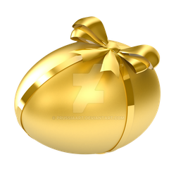Easter egg on a transparent background. by PRUSSIAART