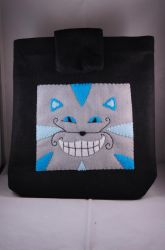 Cheshire Cat Case by VickitoriaEmbroidery