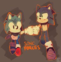 SONIC FORCES by QuiickyFoxy