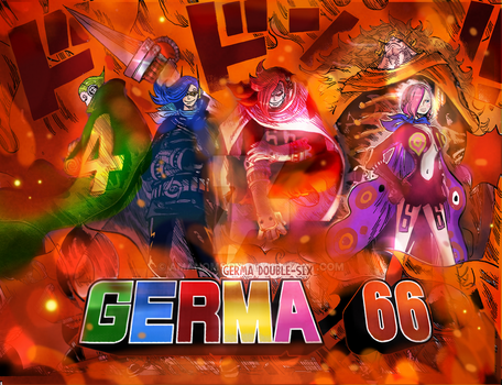 One Piece Chapter 869 GERMA 66 VINSMOKE FAMILY ! by Amanomoon