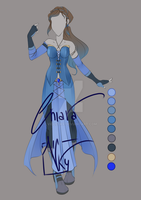 :: ADOPTABLE  Outfit 01: AUCTION CLOSED:: by VioletKy