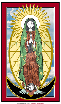 Our Lady of Guadalupe by NowitzkiTramonto