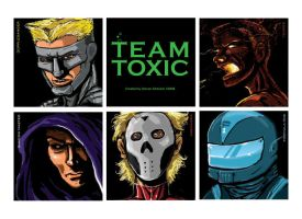 Team Toxic Characters by DMStrecker