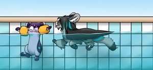 Swimming Lessons by Umbra-Exe