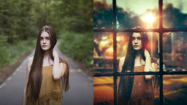 Simple Portrait Effect and Manipulation by Andrei-Oprinca
