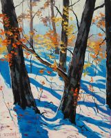 Autumn Snow by artsaus