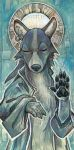 Saint of Dogs by ursulav