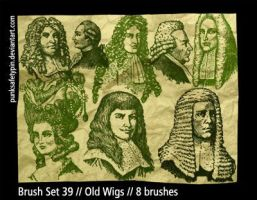 Brush Set 39 - Old Wigs by punksafetypin