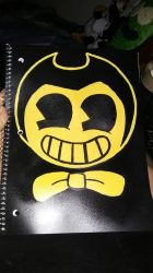 Bendy Notebook  by MLPAristiscCSketch