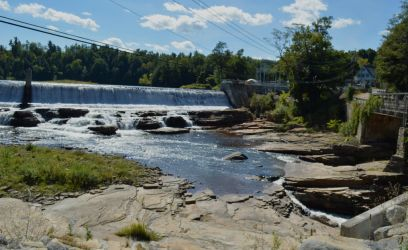 Rainbow Falls 2 (Ausable Chasm NY) by H-R-Germaine