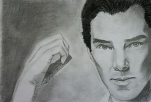 Benedict Cumberbatch by MBdrawings