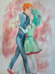 commission:  dance by Aucailin