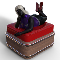A Drow in Russia - Image 2 by Enerla