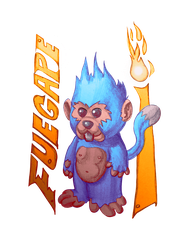 Fire Ape by BigOx2daBox