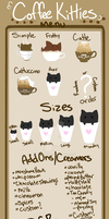 Coffee Kitties Menu Guide by ToodaIoo