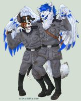 Dog Soldiers -commission- by Loihtuja