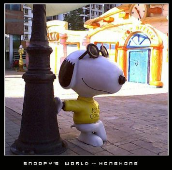 snoopy by chocoboy