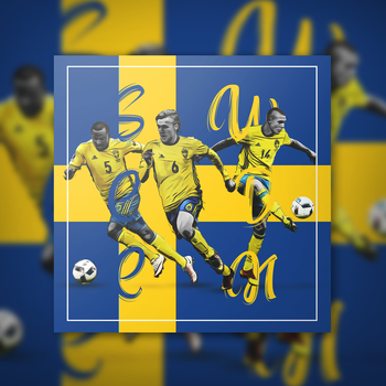 Sweden World Cup Poster by rngfx96