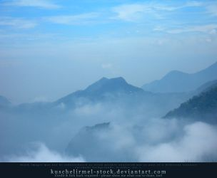 Misty Mountains 03 by kuschelirmel-stock