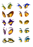 Fantrolls' Eyes, All them Eyes by 7-Days-Luck