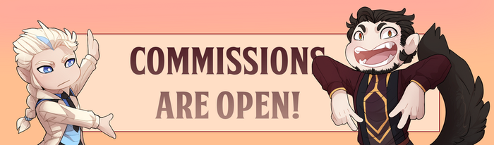 Commissions Are Open! by Reyniki