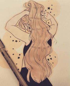 Quick sketch by StarsInMyCoffeee