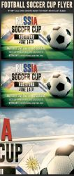 Soccer World Cup Flyer Template by Hotpindesigns