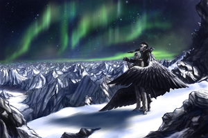 Northern Lights by MistressMim