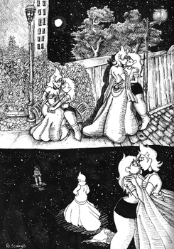Sketchpage: Fairytale Dreams by TheRScrooge
